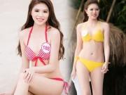 """Thời trang - Nét """"Tây"""" khó rời mắt của nữ du học sinh thi Hoa hậu VN"""