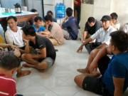 An ninh Xã hội - Triệt phá tụ điểm đá gà, bắt giữ 29 con bạc