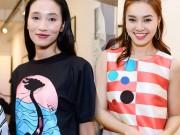 Chân dài Trang Khiếu ngâm váy áo trong… bể cá