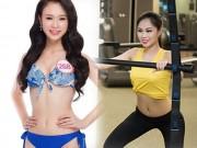 Làm đẹp - Bí mật thân hình gợi cảm của 3 mỹ nữ thi Hoa hậu VN