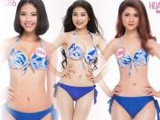 Clip màn thi áo tắm nóng bỏng tại Chung kết Hoa hậu VN