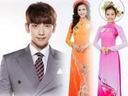 Ca nhạc - MTV - Bi Rain náo loạn sân khấu Hoa hậu VN cùng top 30