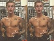 Loạt ảnh cơ bắp của Justin Bieber khiến fan nữ phát sốt