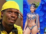 Thể thao - Usain Bolt đem HCV Olympic vui đùa với người đẹp