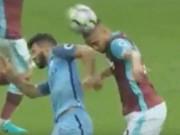 Bóng đá - Aguero nguy cơ bị phạt 3 trận, lỡ derby Manchester