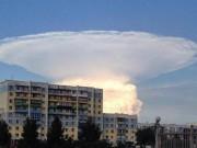 Phi thường - kỳ quặc - Đây là đám mây hay một vụ nổ hạt nhân?