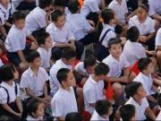 Giáo dục - du học - TP.HCM: Không báo cáo thành tích, không mời lãnh đạo trong lễ khai giảng