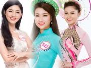 """Thời trang - """"Cân đo"""" nhan sắc hoa hậu Mỹ Linh cùng 2 tân á hậu"""