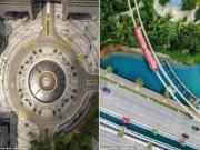 Ngắm vẻ đẹp khác lạ của Singapore từ trên cao