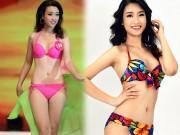 Thời trang - Lục ảnh gợi cảm của Mỹ Linh khi thi Hoa hậu Hoàn vũ