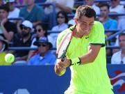 """Thể thao - """"Siêu quậy"""" tennis dọa nhét bóng vào mồm khán giả"""