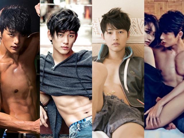 """19 mỹ nam Hàn """"cởi đồ"""" đẹp nhất"""