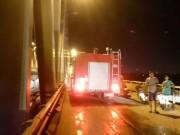 Tin tức trong ngày - HN: Thanh niên đốt xe, nhảy múa trên cầu Chương Dương