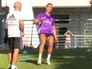"""Bóng đá - Ronaldo tập chạy như """"điên"""", hẹn tái xuất tuần sau"""