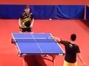 Thể thao - Lin Dan chơi bóng bàn kiểu cầu lông, cao thủ bái phục