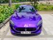 """Maserati GranTurismo màu tím """"cực độc"""", biển đẹp trở lại Sài Gòn"""