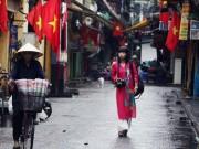 Một Hà Nội vắng vẻ, yên bình trong ngày Quốc Khánh