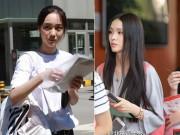 Bạn trẻ - Cuộc sống - Tân sinh viên nghệ thuật TQ hút hồn ngày nhập học