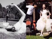 Thư Kỳ đã kết hôn với bạn trai 12 năm