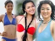 """"""" Khai quật """"  ảnh bikini xưa cũ của các hoa hậu Việt"""