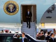 """Thế giới - TQ """"chơi khăm"""" Obama, không cấp xe thang xuống máy bay?"""