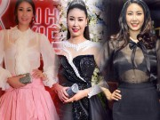 Thời trang - Hà Kiều Anh mặc sexy, diêm dúa bất chấp tuổi 40