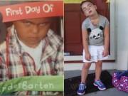 Tranh vui - Hài hước với hình ảnh ngày đầu tiên đi học của bé