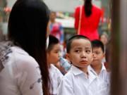 Tin tức trong ngày - Những hình ảnh ngộ nghĩnh của trẻ nhỏ ngày đầu tới lớp