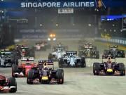 Thể thao - Lịch thi đấu F1: Singapore GP 2016