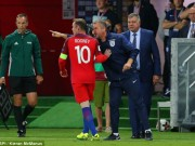 """Bóng đá - Rooney ở tuyển Anh: Ranh giới công thần và """"cục nợ"""""""