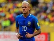 """Bóng đá - Neymar bị fan cuồng """"đánh úp"""" trên sân tập ĐT Brazil"""
