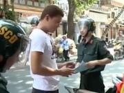 """Video An ninh - CSCĐ Hà Nội xử phạt hơn 8.500 người """"đầu trần"""""""