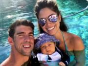 Thể thao - Bí mật về quý tử của Phelps và Hoa hậu Nicole Johnson