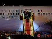Tin tức trong ngày - Tổng thống Pháp đã đến Việt Nam đêm qua
