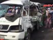 Video An ninh - Tai nạn thảm khốc trên QL 1A, 11 người thương vong