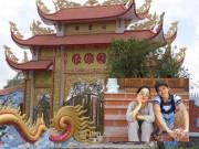 Đời sống Showbiz - Choáng với nhà thờ Tổ 100 tỷ đã xây xong của Hoài Linh