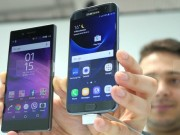 Thời trang Hi-tech - So sánh nhanh Sony Xperia XZ và Samsung Galaxy S7 Egde