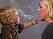 Sức khỏe đời sống - Mẹ hút thuốc, con bị tâm thần