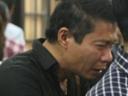 Công Lý khóc không ngừng tại đám tang NSƯT Hán Văn Tình