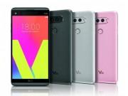 Dế sắp ra lò - LG V20 chính thức ra mắt, trọng lượng nhẹ, camera kép