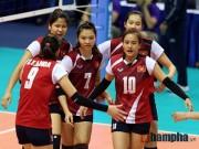 Thể thao - Lịch thi đấu cúp bóng chuyền nữ châu Á 2016