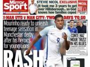 Bóng đá - MU: Rashford đá chính derby, Mata hay Rooney hy sinh?