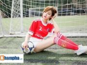 """Hot girl Tú Linh: """"MU sẽ thắng kịch tính Man City"""""""