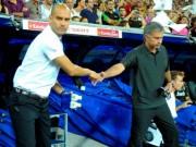Bóng đá - Mourinho thủ sẵn rượu để mời Guardiola sau derby