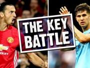 """Bóng đá - Derby Manchester: John Stones tự tin """"bắt chết"""" Ibra"""