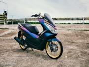 """Thế giới xe - Ngắm Honda PCX 150 độ vàng siêu đắt của """"dân chơi"""""""