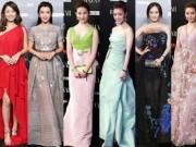 Thời trang - Mỹ nhân Hoa ngữ nô nức đọ vẻ đẹp nữ thần trên thảm đỏ