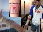 Ca nhạc - MTV - Hình xăm khắp cơ thể Sơn Tùng giống hệt của G-Dragon