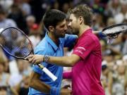 Thể thao - Djokovic tâm phục Wawrinka, chấn thương không quá nặng