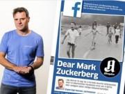 """Facebook thay đổi quan điểm về bức ảnh  """" Em bé napalm """""""